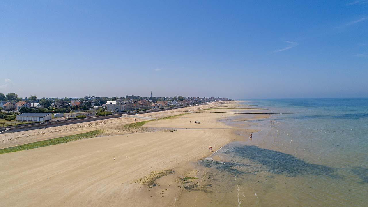 Cote De Nacre Saint Aubin Sur Mer Normandie Campings Pro Btp Vacances